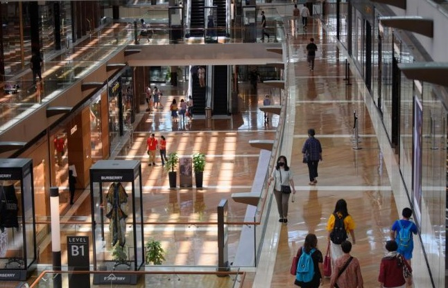 The amount of occupied retail space contracted by 93,000 sq m net lettable area in Q2 2020